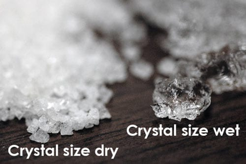 Hydro-Keep non toxic chemical crystals close up