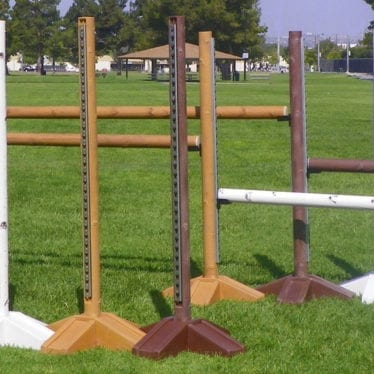 Natures post horse jump standards