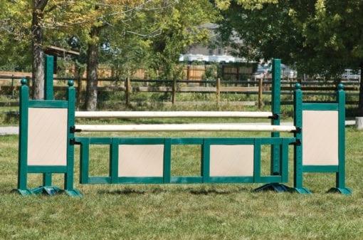 Green and Tan Jump Gate