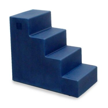 plastic navy four steps mounting block